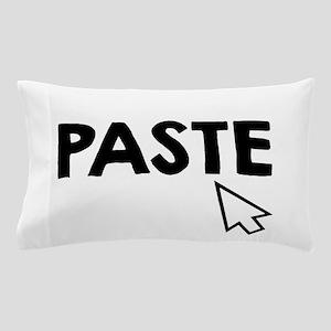 Paste Black Pillow Case