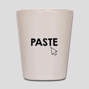 Paste Black Shot Glass