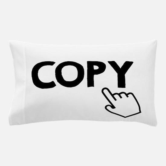 Copy Black Pillow Case