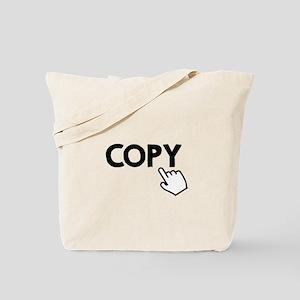 Copy Black Tote Bag