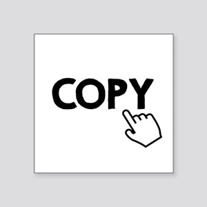 Copy Black Sticker