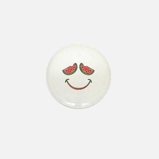 Cute Funny Watermelon Mini Button