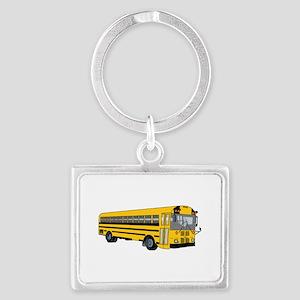 School Bus Keychains