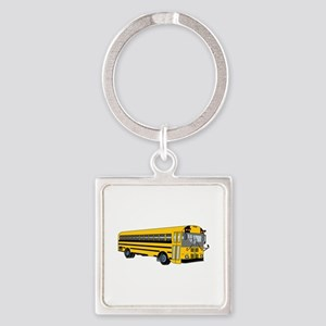School Bus Keychains