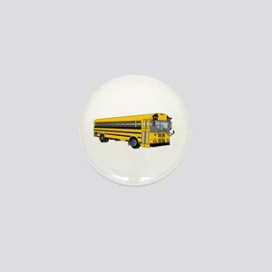 School Bus Mini Button