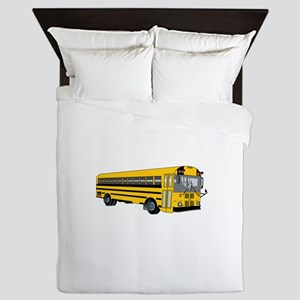 School Bus Queen Duvet