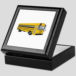 School Bus Keepsake Box