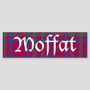 Tartan - Moffat dist. Sticker (Bumper)