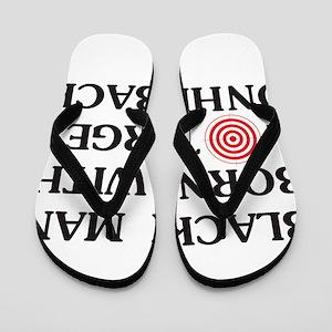 Black man target Flip Flops