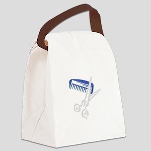 Hair Care Logo Canvas Lunch Bag