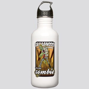 Vegan Zombie Stainless Water Bottle 1.0L