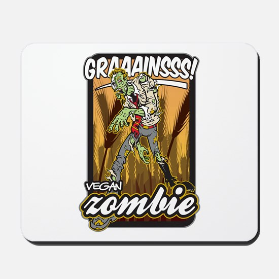 Vegan Zombie Mousepad
