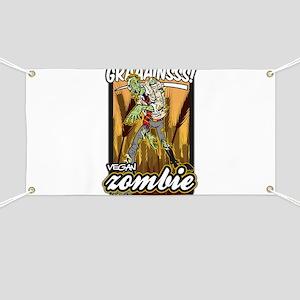 Vegan Zombie Banner