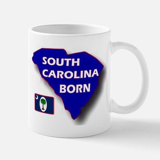 SOUTH CAROLINA BORN Mugs