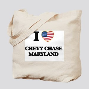 I love Chevy Chase Maryland Tote Bag
