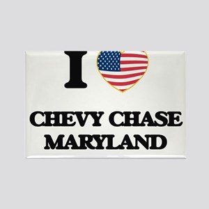 I love Chevy Chase Maryland Magnets