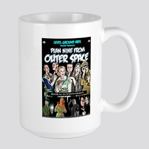 Plan NINE From Outer Space Large Size Mug