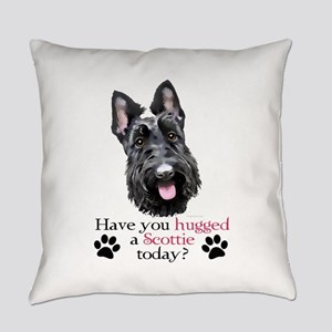 Scottie Hug Everyday Pillow