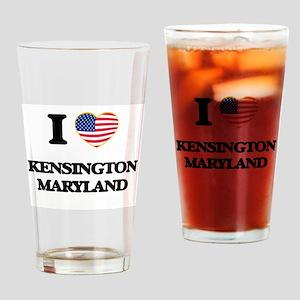I love Kensington Maryland Drinking Glass