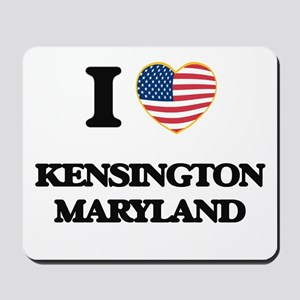 I love Kensington Maryland Mousepad