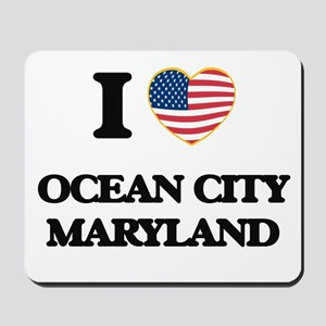 I love Ocean City Maryland Mousepad