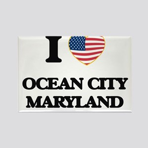 I love Ocean City Maryland Magnets