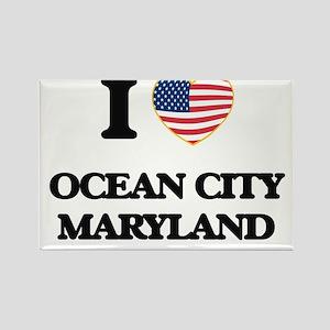 I love Ocean City Maryland Magnets