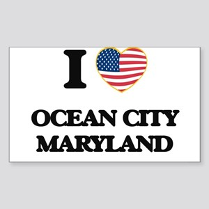 I love Ocean City Maryland Sticker