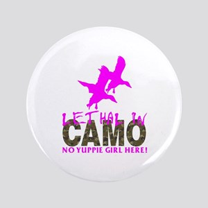 GIRL CAMO HUNTER Button