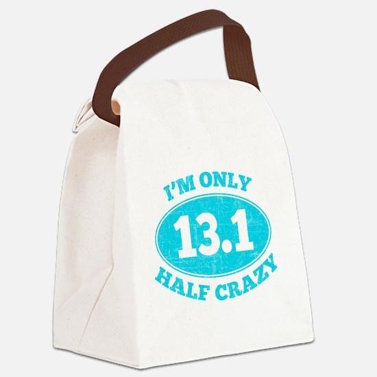 Cute Half marathon Canvas Lunch Bag