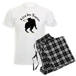 Los Toros - Bull Men's Light Pajamas