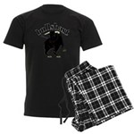 BullShart Bullshit Men's Dark Pajamas