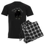 Los Toros - Bull Men's Dark Pajamas