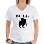 Los Toros - Bull Women's V-Neck T-Shirt