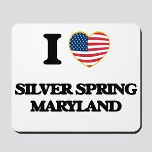 I love Silver Spring Maryland Mousepad