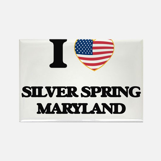 I love Silver Spring Maryland Magnets