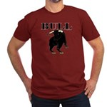 Los Toros - Bull Men's Fitted T-Shirt (dark)