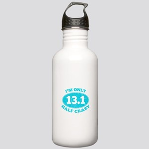 I'm Only Half Crazy Stainless Water Bottle 1.0L