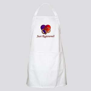Just Registered BBQ Apron