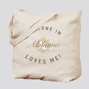 Someone In Alabama Tote Bag