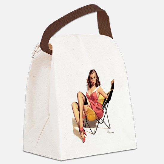 pinup Canvas Lunch Bag