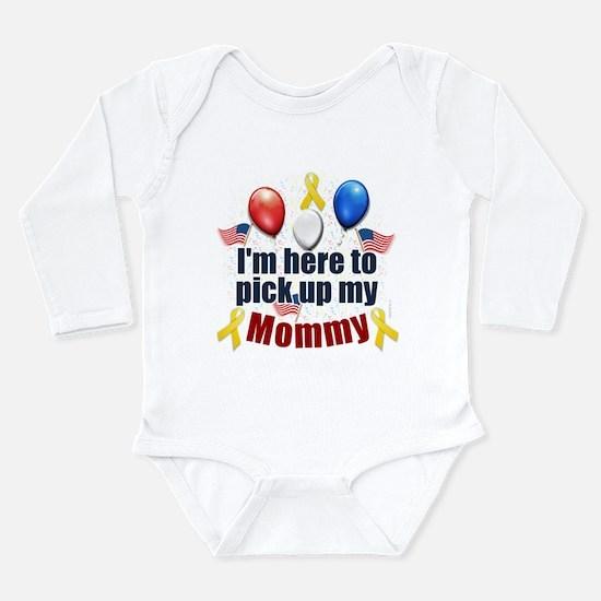 Pick up my Mommy Infant Bodysuit Body Suit