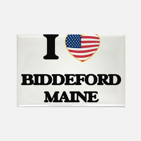 I love Biddeford Maine Magnets