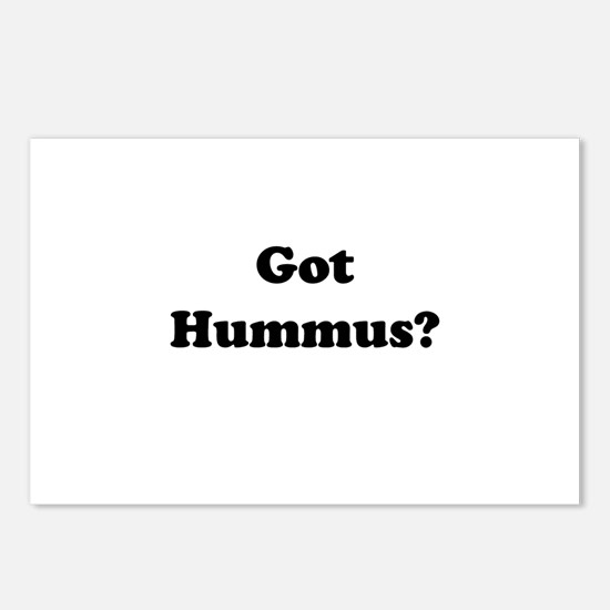 Got Hummus Postcards (Package of 8)