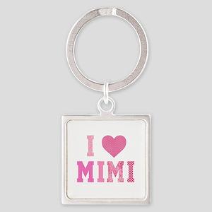 I love Mimi Pink Keychains