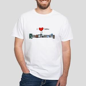 I Heart Bacon And Neurodiversity T-Shirt