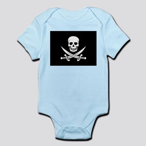 Skull and Swords Jolly Roger Body Suit