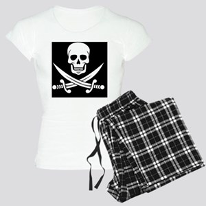 Skull and Swords Jolly Roge Women's Light Pajamas
