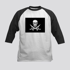 Skull and Swords Jolly Roger Baseball Jersey