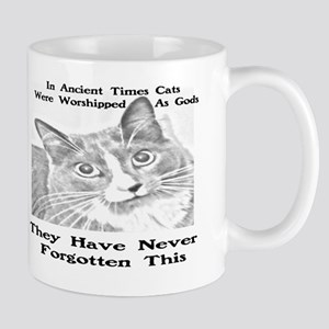 CATS WORSHIPPED AS GODS Mug